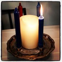 Our home Advent Wreath